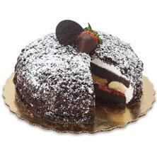 Fruit-Filled Brown Derby Cake