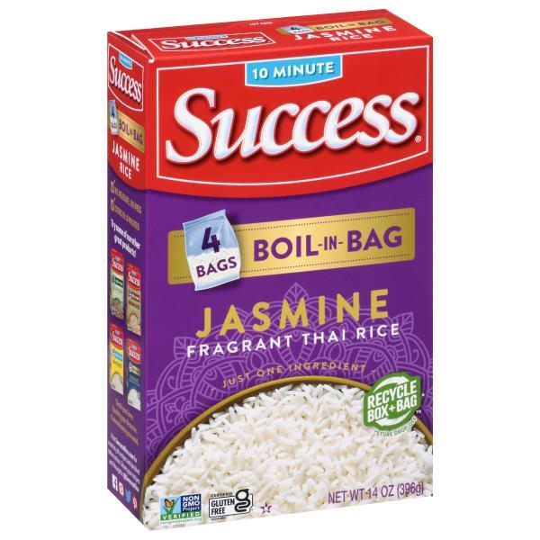Success Rice, Jasmine, Thai Hom Mali, Boil-in-Bag