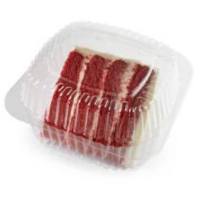 Cake Slice Red Vel Cream Cheese