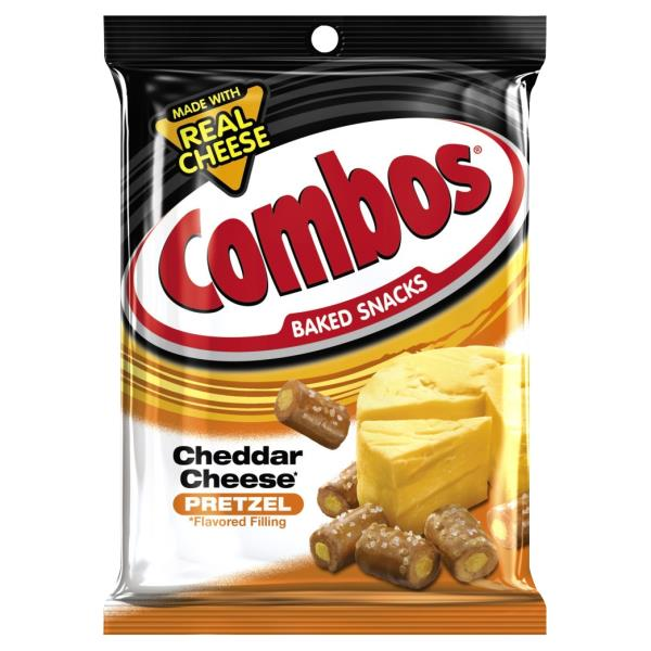Combos Baked Snacks, Cheddar Cheese Pretzel