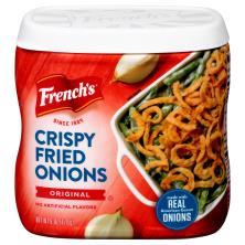 Frenchs Onions, Crispy Fried, Original