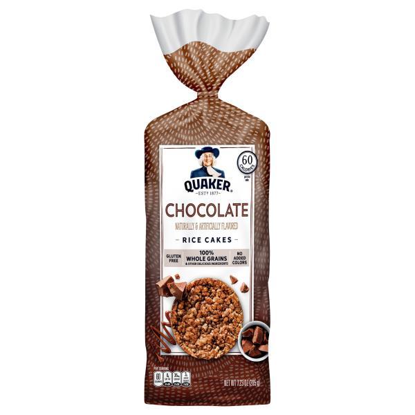 Quaker Rice Cakes, Chocolate Crunch