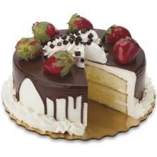 Strawberry Elegance Cake