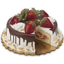 Strawberry Sensation Cake