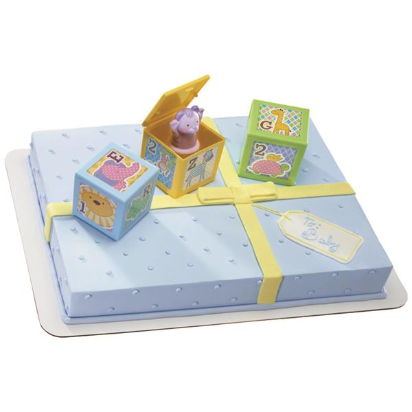 ABC Baby Blocks Signature Cake