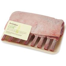 GreenWise Lamb Rack, Frenched, Raised Without Antibiotics, Product of Australia