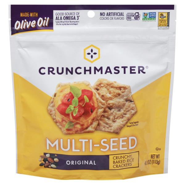 Crunchmaster Crackers, Multi-Seed, Original