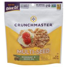 Crunchmaster Crackers, Multi-Seed, Rosemary & Olive Oil
