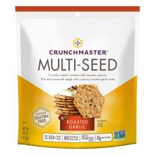 Crunchmaster Crackers, Multi-Seed, Roasted Garlic
