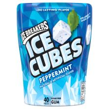 Ice Breakers Ice Cubes Gum, Sugar Free, Peppermint