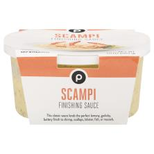 Publix Scampi Finishing Sauce, Located in the Seafood Department