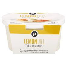 Publix Lemon-Dill Finishing Sauce, Located in the Seafood Department