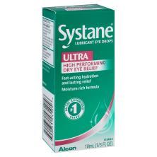 Systane Ultra Eye Drops, Lubricant, High Performance