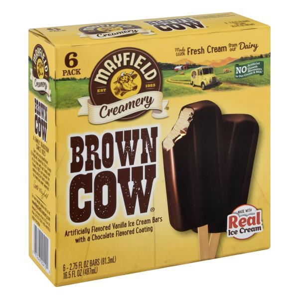 Mayfield Dessert Bars, Brown Cows