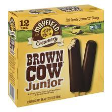 Mayfield Dessert Bars, Brown Cow Juniors