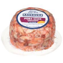Kaukauna Cheese, Spreadable, Port Wine, with Almonds