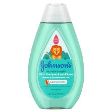 Johnsons No More Tears Shampoo & Conditioner
