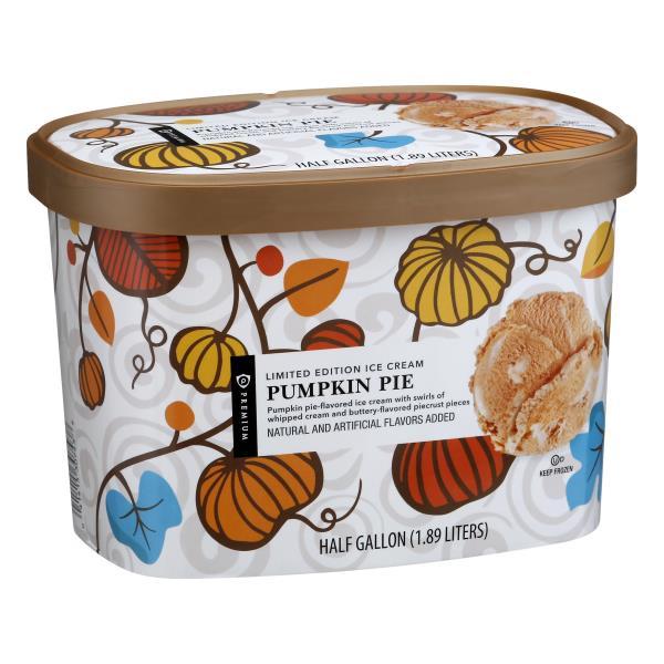 Publix Premium Ice Cream, Pumpkin Pie