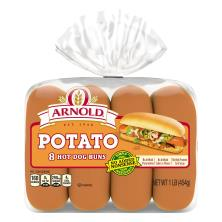 Oroweat Select Buns, Hot Dog, Sweet Golden Potato
