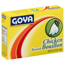 Goya Bouillon, Chicken Flavored