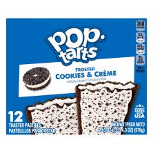 Pop Tarts Toaster Pastries, Frosted, Cookies & Creme