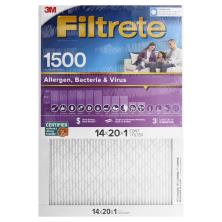 3m Filtrete Air Cleaning Filter, Ultra Allergen Reduction 14x20x1