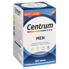 Centrum Multivitamin/Multimineral, Men, Tablets