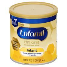 Enfamil Infant Formula, with Iron, Milk-Based Powder, 1 (Through 12 Months)