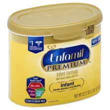 Enfamil Premium Infant Formula, with Iron, Milk-Based Powder, Infant (0-12 Months)