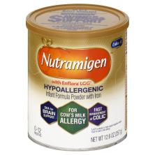Nutramigen Infant Formula, Hypoallergenic, with Iron, with Enflora LGG, Powder, 1 (0-12 Months)