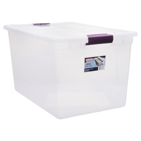 Sterilite ClearView Latch Storage Container 66 Qt  sc 1 st  Publix & Sterilite ClearView Latch Storage Container 66 Qt : Publix.com