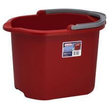 Sterilite Pail, 16 Qt, Classic Red