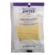 Publix Reduced Fat 2% Milk Swiss, Cheese Slices