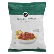 Publix Italian Style Meatballs