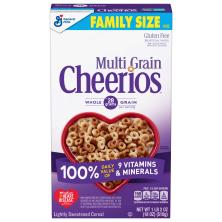 Cheerios Cereal, Multi Grain