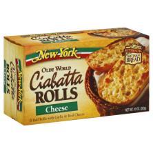 New York Ciabatta Rolls, Olde World, Cheese