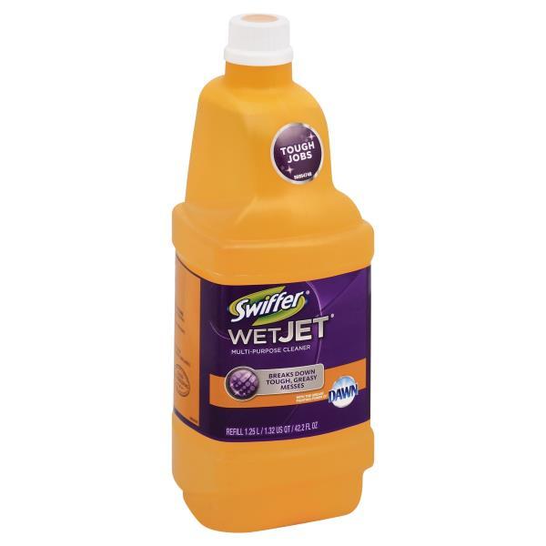 Swiffer Wetjet Cleaner Multi Purpose Refill Publix