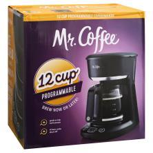 Mr Coffee Coffeemaker, Programmable, 12 Cup