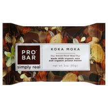 Probar Simply Real Meal Bar, Whole Food, Koka Moka