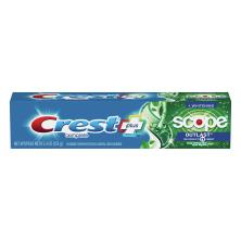 Crest Complete Multi-Benefit Toothpaste, Fluoride, Whitening + Scope Outlast, Mint