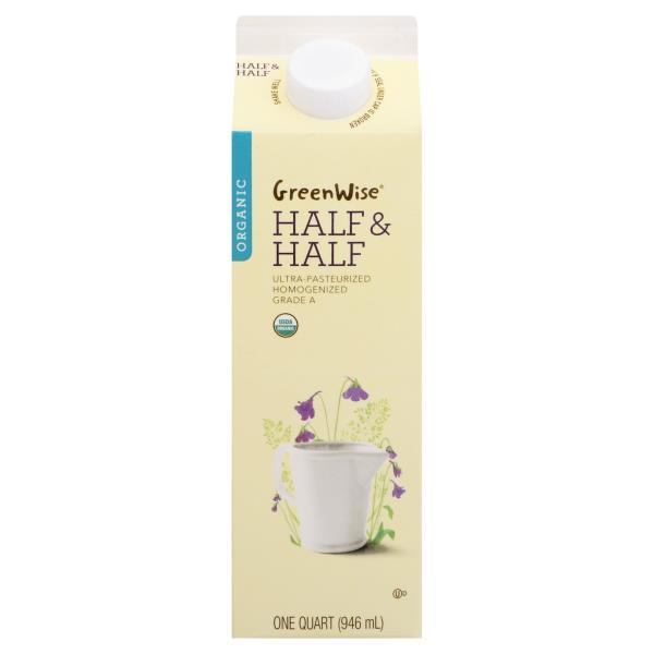 GreenWise Half & Half, Organic