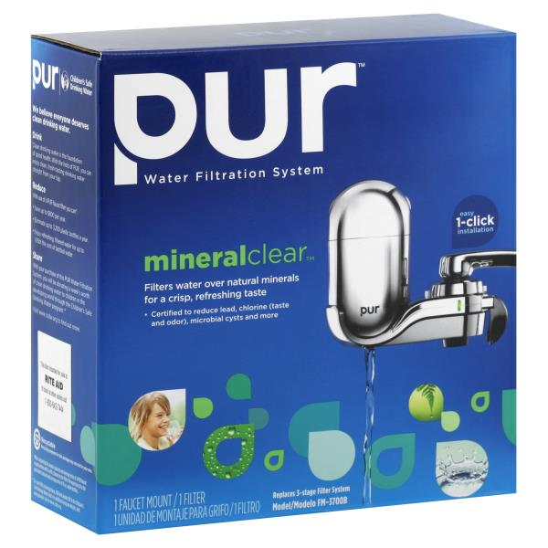 Pur Water Filtration System, Advanced with MineralClear