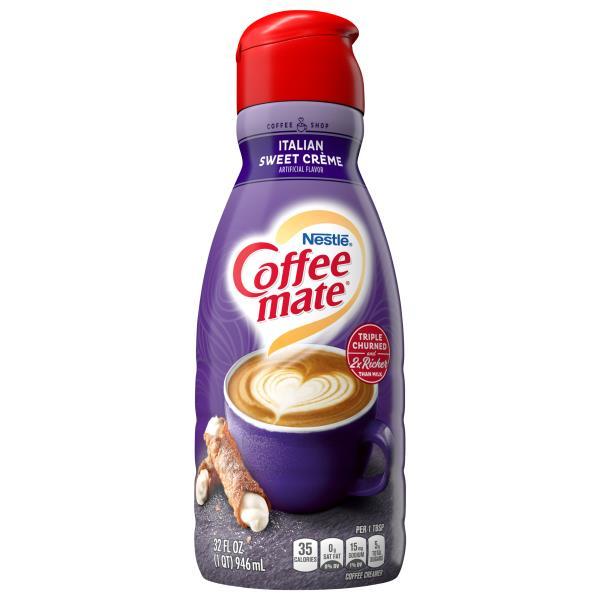 Coffee Mate Coffee Creamer, Italian Sweet Creme