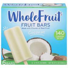 Whole Fruit Fruit Bars, Coconut