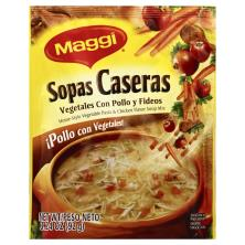 Maggi Soup Mix, Home-Style Vegetable Pasta & Chicken Flavor