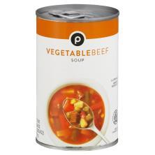 Publix Soup, Vegetable Beef