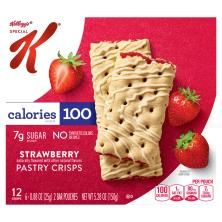 Special K Pastry Crisps, Strawberry