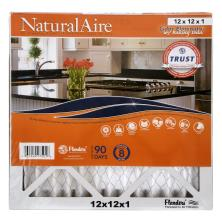 NaturalAire Air Cleaning Filter, Odor Eliminator w/Baking Soda, 12 x 12 x 1