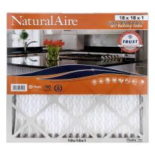 NaturalAire Air Cleaning Filter, Odor Eliminator w/Baking Soda, 18 x 18 x 1