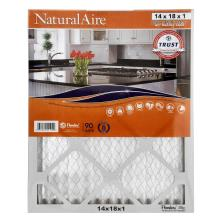 NaturalAire Air Cleaning Filter, Odor Eliminator w/Baking Soda, 14 x 18 x 1